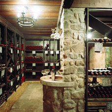 Rustic Wine Cellar by Arrowsmith Forge