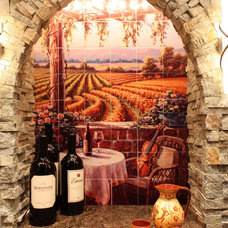 Mediterranean Wine Cellar by Compassionate Arts International