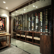 Eclectic Wine Cellar Wine Cellar - Bar