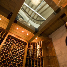 Wine Cellar by Braswell Architecture, Inc.