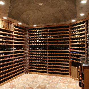 Exempel på en klassisk vinkällare