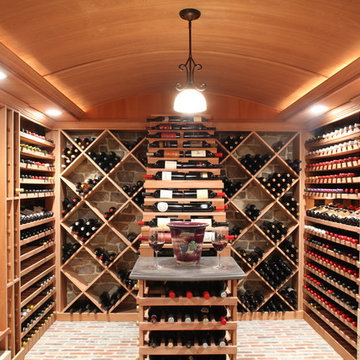 Wine Cellar Ceiling Finishes