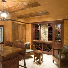 Rustic Wine Cellar by Cheryl D & Company
