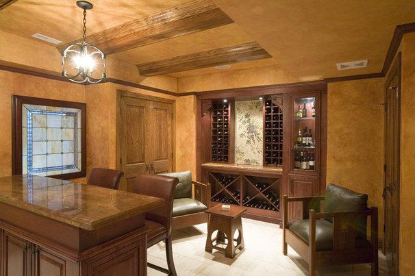 Rustic Wine Cellar by Cheryl D & Company
