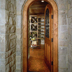 modern wine cellar by Christian Tennant Custom Homes