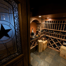 Traditional Wine Cellar by Dallas Renovation Group