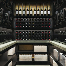 Modern Wine Cellar by Eco Climate Solutions