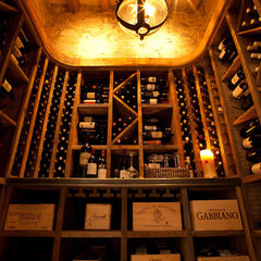 traditional wine cellar by Don Ziebell