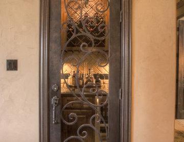 wine cellar doorway