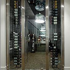 Contemporary Wine Cellar by Douglas Design Studio