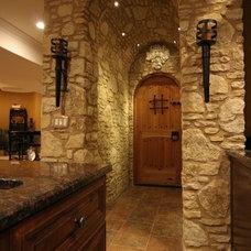 Mediterranean Wine Cellar by Meyer Design