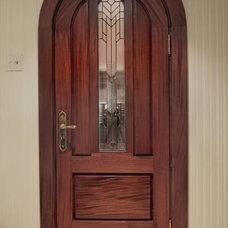 Contemporary Wine Cellar by Fine Grain Woodworking Inc.