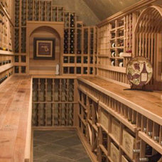 Traditional Wine Cellar by Wine Cellar Depot