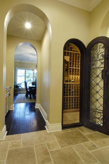 Mediterranean Wine Cellar by Gritton & Associates Architects