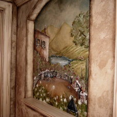 Mediterranean Wine Cellar by DISTINCTIVE APPLICATIONS Kimberly Wohlfarth,Artist