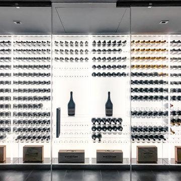 Wine Cellar: Hamptons Residence