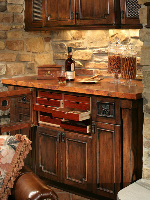 Built In Cigar Humidor | Houzz