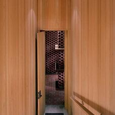 Modern Wine Cellar by Ike Kligerman Barkley