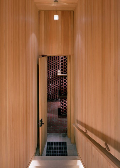 Modern Wine Cellar by Ike Kligerman Barkley