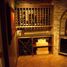 Traditional Wine Cellar Wine Cellar
