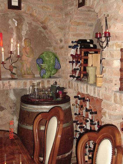 Eclectic Wine Cellar by Karen Schaefer Louw