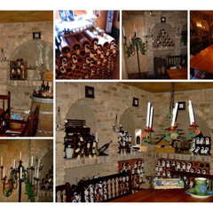 mediterranean wine cellar by Karen Schaefer Louw