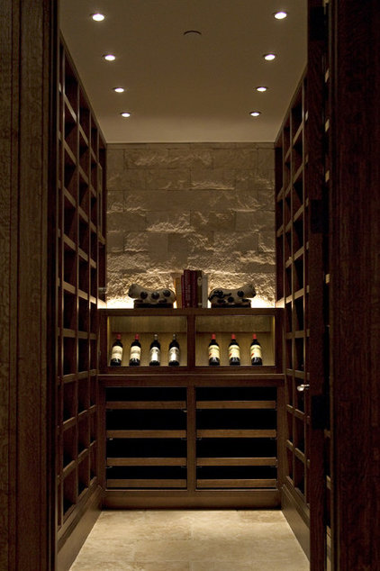 Traditional Wine Cellar by 186 Lighting Design Group - Gregg Mackell