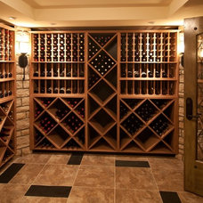 Traditional Wine Cellar by Lorrien Homes & Remodeling