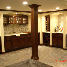 Traditional Wine Cellar by Majestic Home Solutions LLC