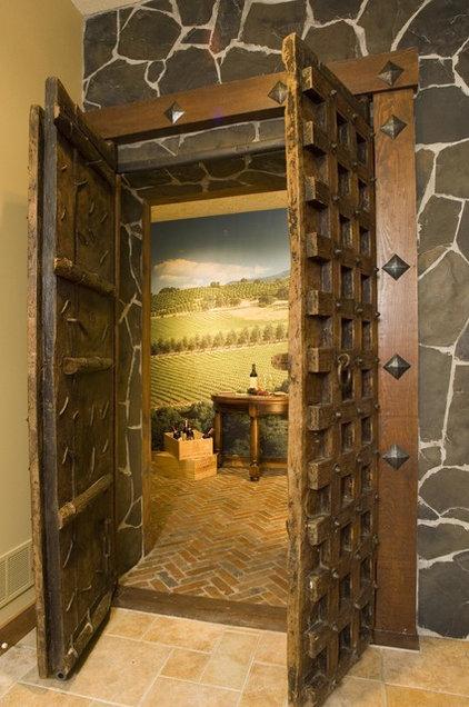 Rustic Wine Cellar by Marie Meko, Allied ASID