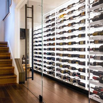 Wine Cellar: Mercer Island Residence