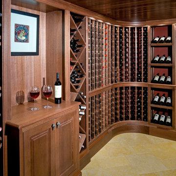 Wine Cellar - Needham Custom Home - 03