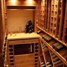Modern Wine Cellar by Aktivni vinne sklepy s.r.o.