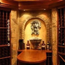 Wine Cellar by Berriz Design Build Group