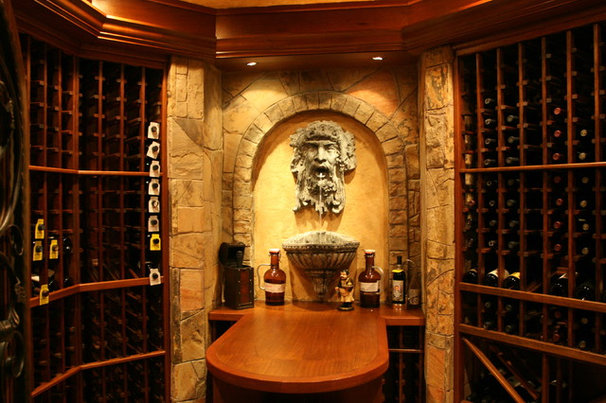 Wine Cellar by Berriz Design Build Group