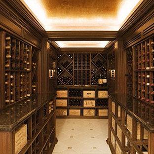 Foto på en 50 tals vinkällare