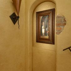 Mediterranean Wine Cellar by Sikora Creations