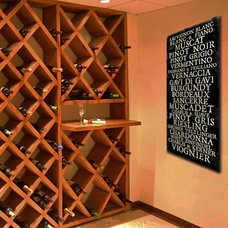Modern Wine Cellar by Geezees, LLC