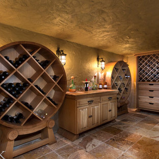 Example of a wine cellar design in Orlando