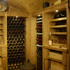 Mediterranean Wine Cellar by Benvenuti and Stein