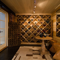 Farmhouse Wine Cellar by Virtual Studio Innovations