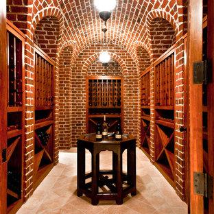 Inspiration for a craftsman wine cellar remodel in Atlanta