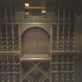Scandi wine cellar in Chicago.