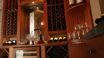 Wine Cellar with display corner
