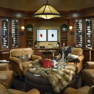 Wine Cellar with Seating