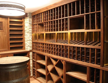 Wine Cellar with Tasting Table