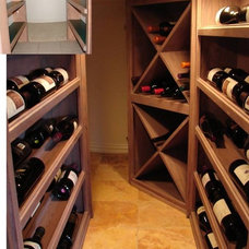 Wine Cellar by Dallas Renovation Group