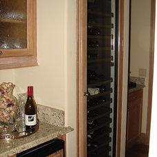 Wine Cellar by Dallas Renovation Group
