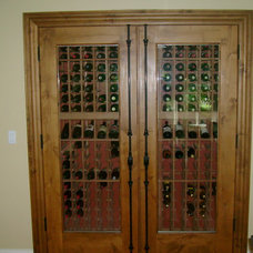 Traditional Wine Cellar by Vine Properties, LLC