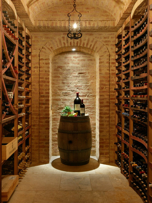 mother of pearl inlay wine cellar design ideas